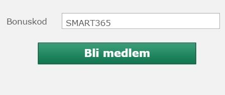 Bet365 bonuskod 2016 = SMART365